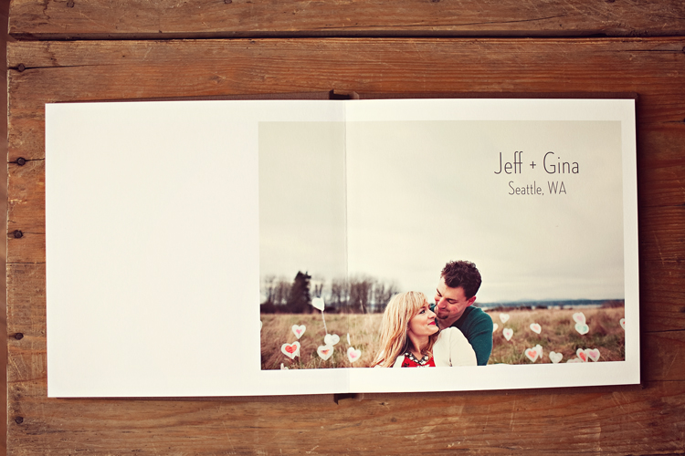 Engagement sign in albums » Julie Harmsen Photography